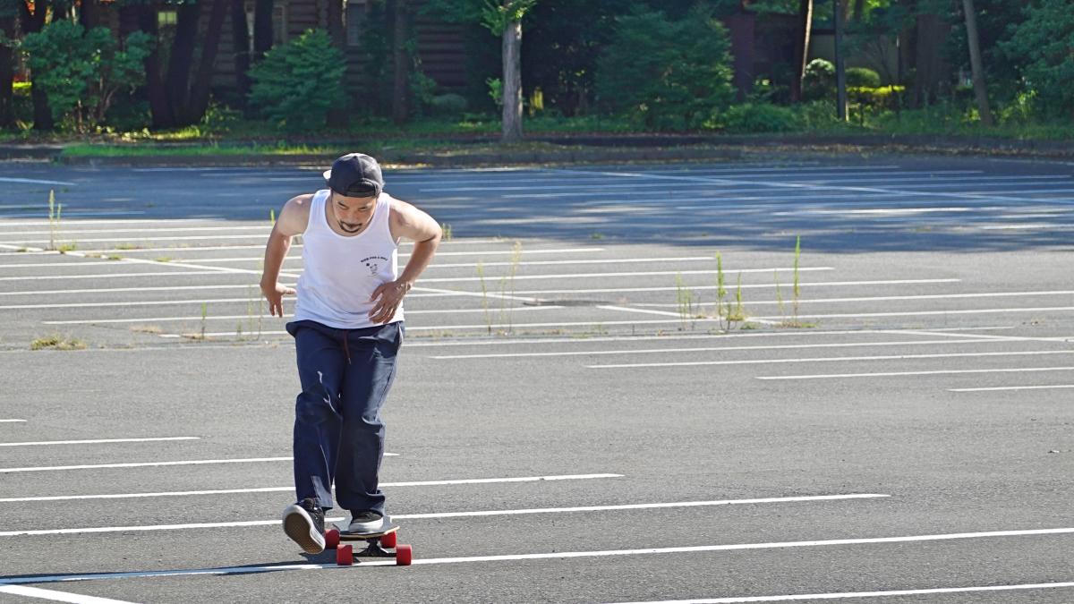 ロングスケートボード スノーボードオフトレ プッシュ